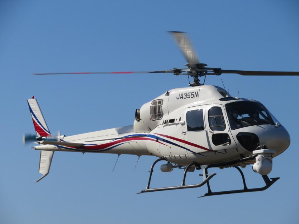 ランチパッドさんの静岡エアコミュータ Aerospatiale AS355 Ecureuil 2/TwinStar (JA355N) 航空フォト