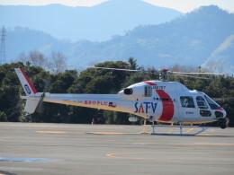 ランチパッドさんが、静岡ヘリポートで撮影した東邦航空 AS355Nの航空フォト(飛行機 写真・画像)