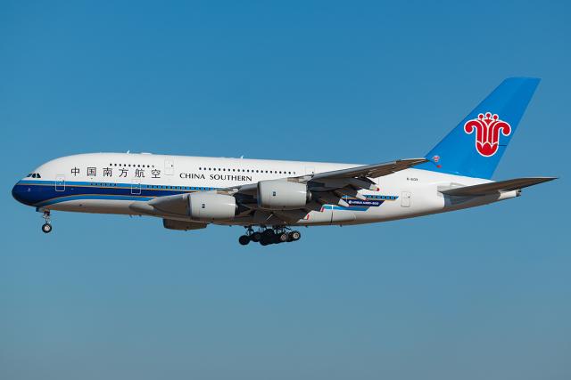 航空フォト:B-6139 中国南方航空 A380