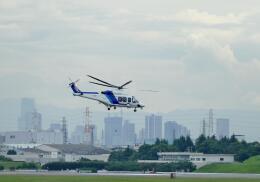平凡なおっちゃんさんが、伊丹空港で撮影したオールニッポンヘリコプター AW139の航空フォト(飛行機 写真・画像)
