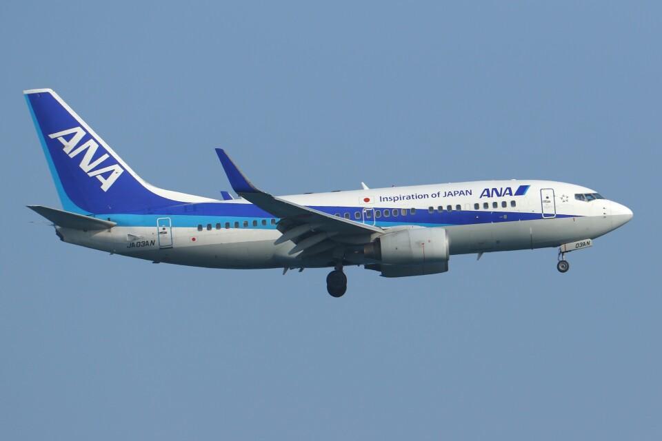 デデゴンさんの全日空 Boeing 737-700 (JA03AN) 航空フォト