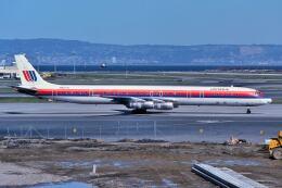 パール大山さんが、サンフランシスコ国際空港で撮影したユナイテッド航空 DC-8-61の航空フォト(飛行機 写真・画像)