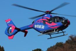 ブルーさんさんが、静岡ヘリポートで撮影した静岡エアコミュータ EC135P1の航空フォト(飛行機 写真・画像)