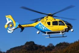 ブルーさんさんが、静岡ヘリポートで撮影した中日本航空 EC135P2+の航空フォト(飛行機 写真・画像)