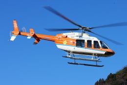 ブルーさんさんが、静岡ヘリポートで撮影した新日本ヘリコプター 407の航空フォト(飛行機 写真・画像)