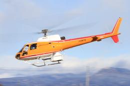 すけちゃんさんが、群馬ヘリポートで撮影した東邦航空 AS350B Ecureuilの航空フォト(飛行機 写真・画像)