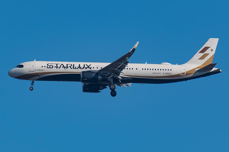 Tomo-Papaさんのスターラックス・エアラインズ Airbus A321neo (B-58202) 航空フォト