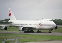 元青森人さんが、函館空港で撮影した日本航空 747-146B/SRの航空フォト(飛行機 写真・画像)