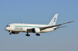 sugarkroneさんが、成田国際空港で撮影したZIPAIR 787-8 Dreamlinerの航空フォト(飛行機 写真・画像)