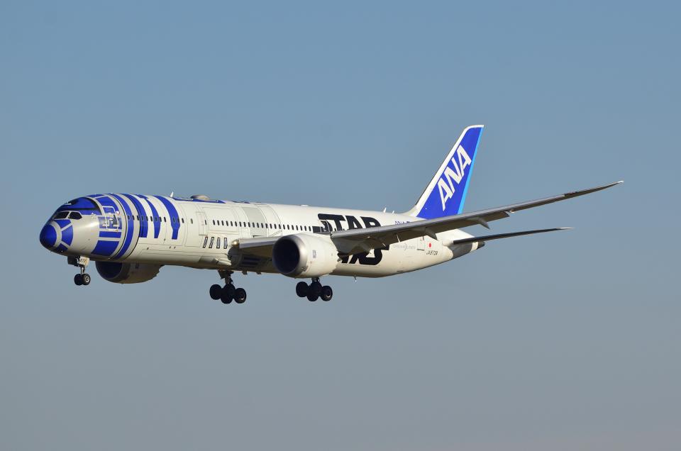 sugarkroneさんの全日空 Boeing 787-9 (JA873A) 航空フォト