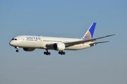 sugarkroneさんが、成田国際空港で撮影したユナイテッド航空 787-9の航空フォト(飛行機 写真・画像)