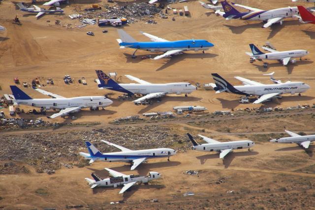 masa707さんが、モハーヴェ空港で撮影した全日空 777-281の航空フォト(飛行機 写真・画像)