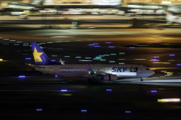 K.Sさんが、羽田空港で撮影したスカイマーク 737-8ALの航空フォト(飛行機 写真・画像)