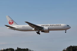 ワイエスさんが、鹿児島空港で撮影した日本航空 767-346/ERの航空フォト(飛行機 写真・画像)