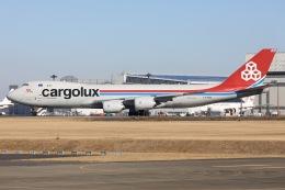 sky-spotterさんが、成田国際空港で撮影したカーゴルクス 747-8R7F/SCDの航空フォト(飛行機 写真・画像)