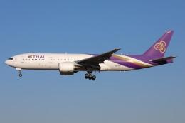 sky-spotterさんが、成田国際空港で撮影したタイ国際航空 777-2D7/ERの航空フォト(飛行機 写真・画像)
