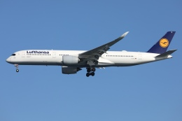 sky-spotterさんが、羽田空港で撮影したルフトハンザドイツ航空 A350-941の航空フォト(飛行機 写真・画像)