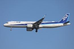 sky-spotterさんが、羽田空港で撮影した全日空 A321-272Nの航空フォト(飛行機 写真・画像)