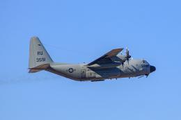 ゆーすきんさんが、厚木飛行場で撮影したアメリカ海軍 KC-130T Herculesの航空フォト(飛行機 写真・画像)
