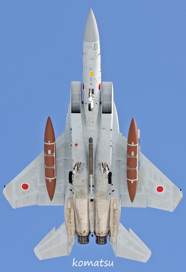 わかすぎさんが、小松空港で撮影した航空自衛隊 F-15DJ Eagleの航空フォト(飛行機 写真・画像)