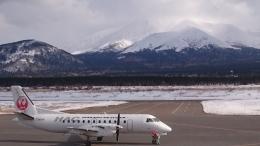 青空飛行隊長さんが、利尻空港で撮影した北海道エアシステム 340B/Plusの航空フォト(飛行機 写真・画像)