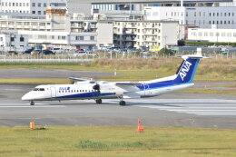MASAMONさんが、福岡空港で撮影したANAウイングス DHC-8-402Q Dash 8の航空フォト(飛行機 写真・画像)