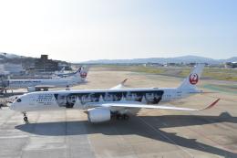MASAMONさんが、福岡空港で撮影した日本航空 A350-941の航空フォト(飛行機 写真・画像)