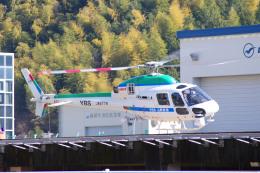 apphgさんが、静岡ヘリポートで撮影した中日本航空 AS355Nの航空フォト(飛行機 写真・画像)