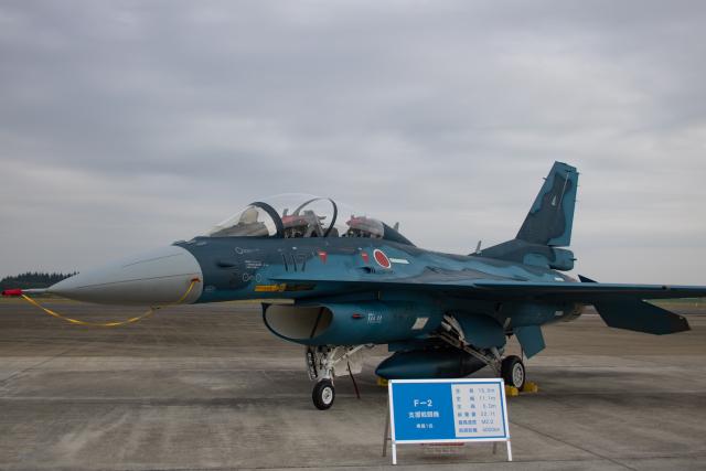 ゆーすきんさんが、入間飛行場で撮影した航空自衛隊 F-2Bの航空フォト(飛行機 写真・画像)