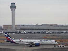 チャレンジャーさんが、羽田空港で撮影したアエロフロート・ロシア航空 A350-941の航空フォト(飛行機 写真・画像)