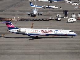 FT51ANさんが、中部国際空港で撮影したアイベックスエアラインズ CL-600-2C10 Regional Jet CRJ-702の航空フォト(飛行機 写真・画像)