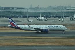 Dekatyouさんが、羽田空港で撮影したアエロフロート・ロシア航空 A350-941の航空フォト(飛行機 写真・画像)
