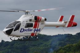 ラムさんが、静岡ヘリポートで撮影した朝日航洋 MD-900 Explorerの航空フォト(飛行機 写真・画像)