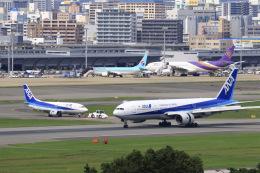aki241012さんが、福岡空港で撮影した全日空 777-281の航空フォト(飛行機 写真・画像)