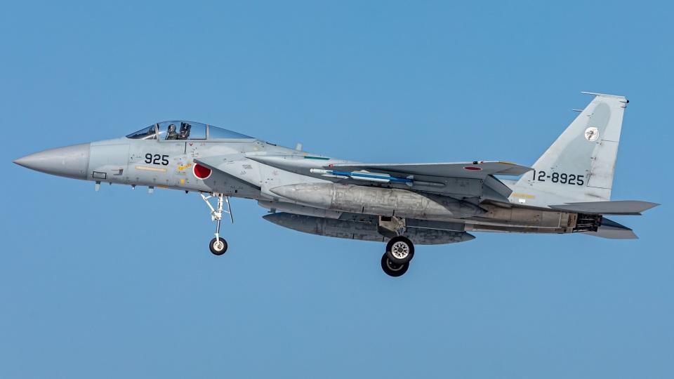 T spotterさんの航空自衛隊 Mitsubishi F-15J Eagle (12-8925) 航空フォト