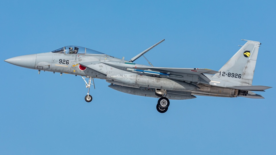 T spotterさんの航空自衛隊 Mitsubishi F-15J Eagle (12-8926) 航空フォト