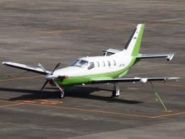 FT51ANさんが、名古屋飛行場で撮影した日本法人所有 TBM-700の航空フォト(飛行機 写真・画像)