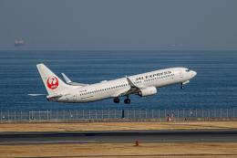 ゆーすきんさんが、羽田空港で撮影したJALエクスプレス 737-846の航空フォト(飛行機 写真・画像)