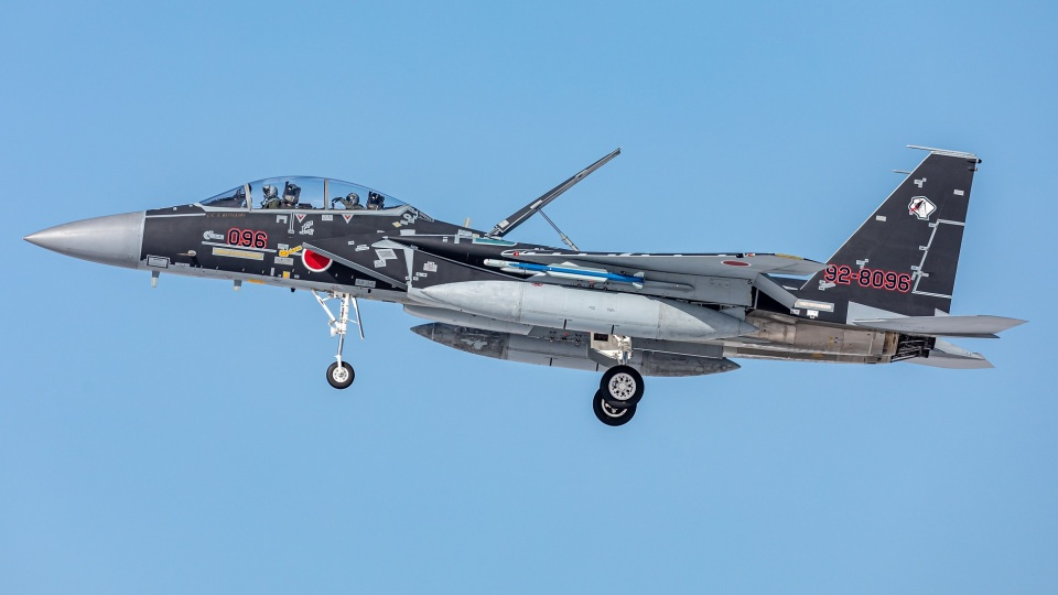T spotterさんの航空自衛隊 Mitsubishi F-15DJ Eagle (92-8096) 航空フォト