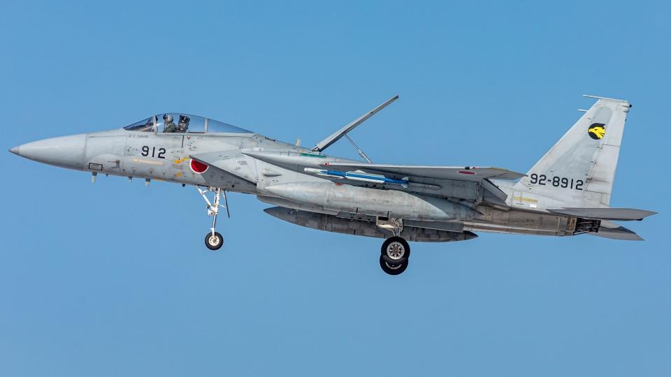 T spotterさんの航空自衛隊 Mitsubishi F-15J Eagle (92-8912) 航空フォト