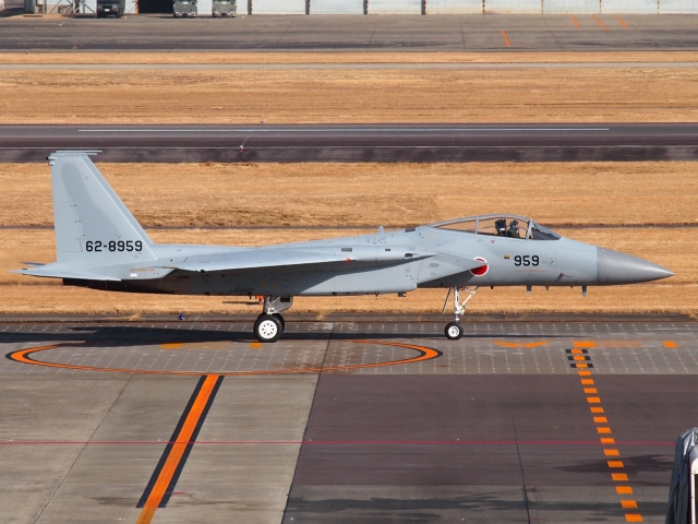 FT51ANさんが、名古屋飛行場で撮影した航空自衛隊 F-15J Eagleの航空フォト(飛行機 写真・画像)