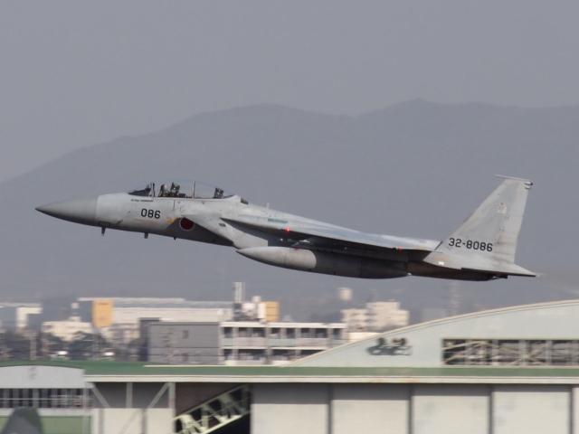 FT51ANさんが、名古屋飛行場で撮影した航空自衛隊 F-15DJ Eagleの航空フォト(飛行機 写真・画像)