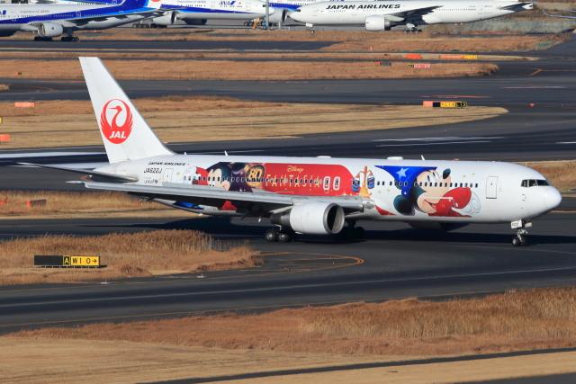 とらとらさんが、羽田空港で撮影した日本航空 767-346/ERの航空フォト(飛行機 写真・画像)
