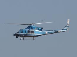 FT51ANさんが、名古屋飛行場で撮影した愛知県警察 412EPの航空フォト(飛行機 写真・画像)