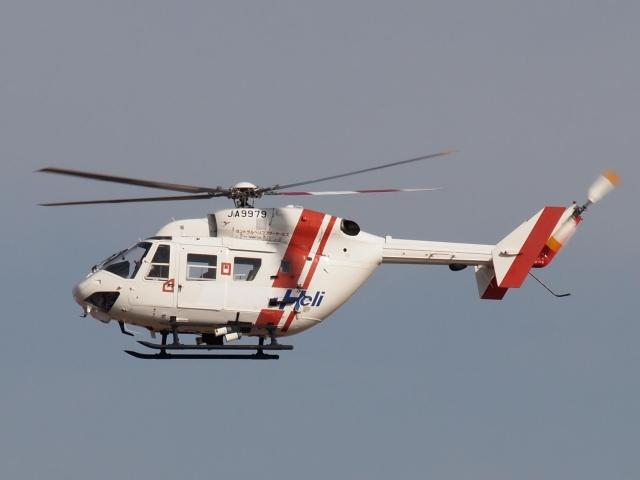 FT51ANさんが、名古屋飛行場で撮影したセントラルヘリコプターサービス BK117C-1の航空フォト(飛行機 写真・画像)