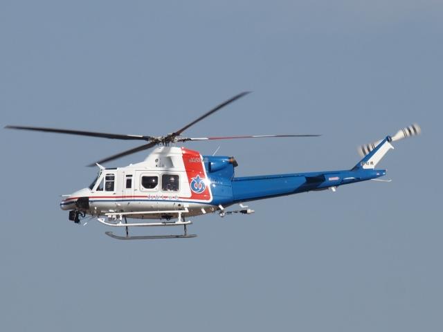 FT51ANさんが、名古屋飛行場で撮影した愛知県防災航空隊 412EPIの航空フォト(飛行機 写真・画像)
