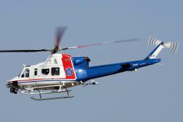 yabyanさんが、名古屋飛行場で撮影した愛知県防災航空隊 412EPIの航空フォト(飛行機 写真・画像)