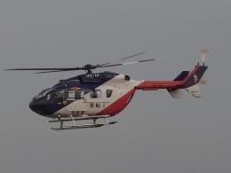 FT51ANさんが、名古屋飛行場で撮影した岐阜県防災航空隊 BK117C-2の航空フォト(飛行機 写真・画像)