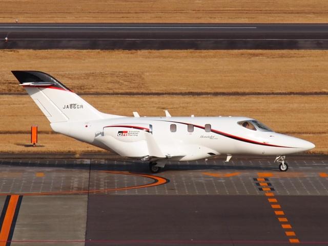 FT51ANさんが、名古屋飛行場で撮影した朝日航洋 HA-420の航空フォト(飛行機 写真・画像)