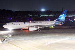 じゃがさんが、成田国際空港で撮影したガルーダ・インドネシア航空 A330-243の航空フォト(飛行機 写真・画像)